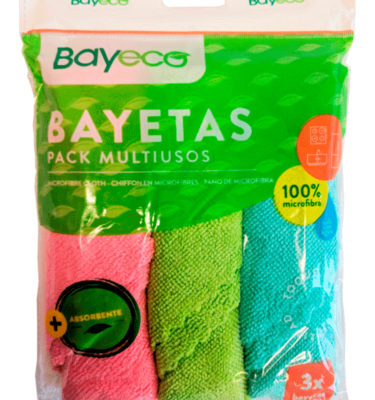pack 3 bayetas multiusos
